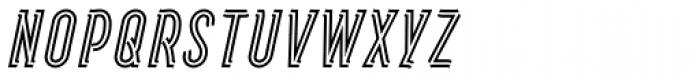 Artios Pro Rail Italic Font UPPERCASE
