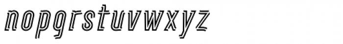 Artios Pro Rail Italic Font LOWERCASE