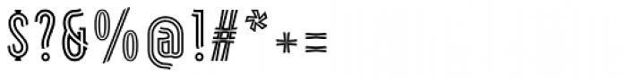 Artios Pro Rail Font OTHER CHARS