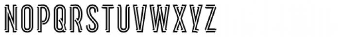Artios Pro Rail Font UPPERCASE