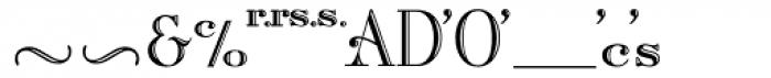 Artisan Roman Alt Font LOWERCASE
