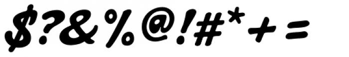 Artist Hand Regular Font OTHER CHARS