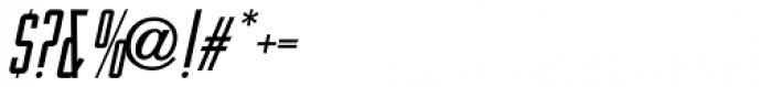 Artistry Oblique JNL Font OTHER CHARS