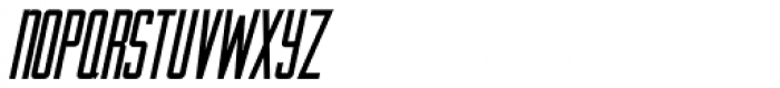 Artistry Oblique JNL Font LOWERCASE
