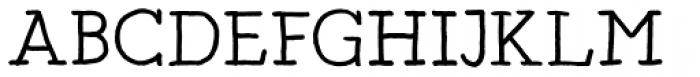 Artlessness Regular Font UPPERCASE