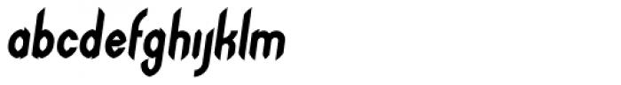 Arundel Sans Oblique Font LOWERCASE