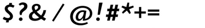 Arventa Sans Pro Bold Italic Font OTHER CHARS
