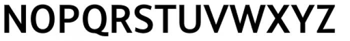Arventa Sans Pro Bold Font UPPERCASE