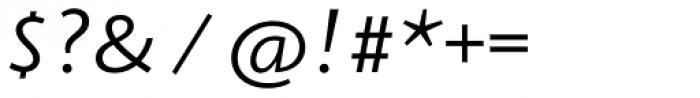 Arventa Sans Pro Italic Font OTHER CHARS