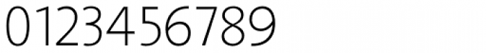 Arventa Sans Pro Thin Font OTHER CHARS