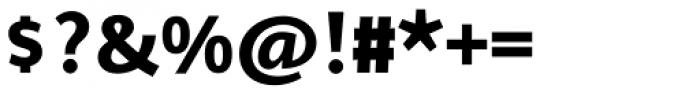 Arventa Sans Pro Ultra Font OTHER CHARS