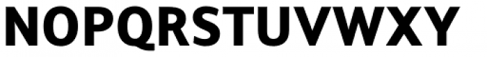 Arventa Sans Pro Ultra Font UPPERCASE