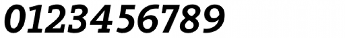 Arventa Slab Pro Black Italic Font OTHER CHARS
