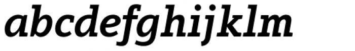 Arventa Slab Pro Black Italic Font LOWERCASE