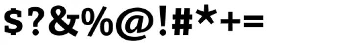 Arventa Slab Pro Black Font OTHER CHARS