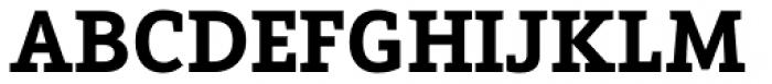 Arventa Slab Pro Black Font UPPERCASE