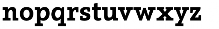 Arventa Slab Pro Black Font LOWERCASE