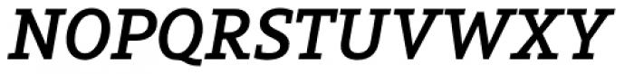 Arventa Slab Pro Bold Italic Font UPPERCASE