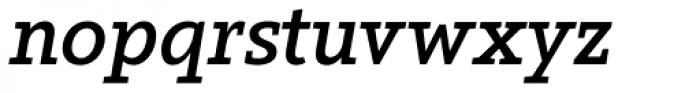 Arventa Slab Pro Bold Italic Font LOWERCASE