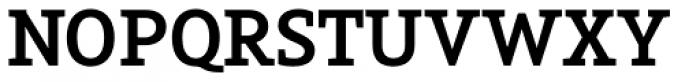 Arventa Slab Pro Bold Font UPPERCASE