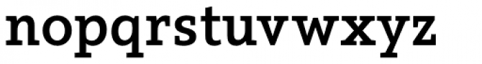 Arventa Slab Pro Bold Font LOWERCASE