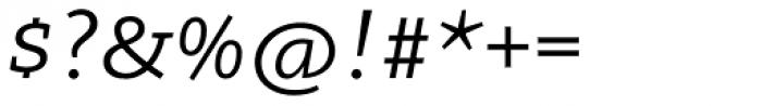 Arventa Slab Pro Italic Font OTHER CHARS