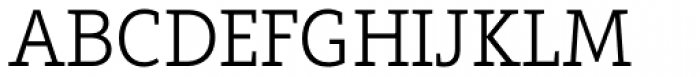 Arventa Slab Pro Light Font UPPERCASE