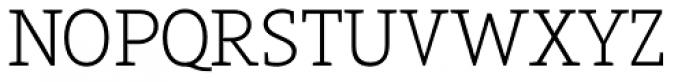 Arventa Slab Pro Thin Font UPPERCASE