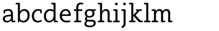 Arventa Slab Pro Font LOWERCASE