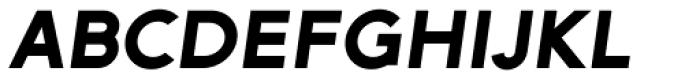 Arya Single Slant Font UPPERCASE