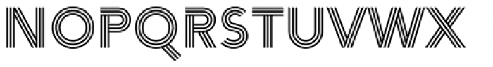 Arya Triple Font UPPERCASE