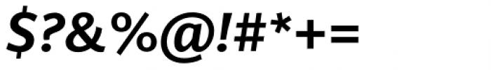 Arzachel Medium Italic Font OTHER CHARS