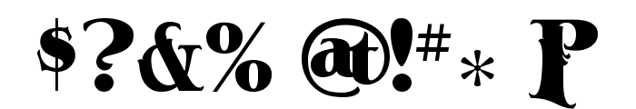 A&S-Ace-High Font OTHER CHARS