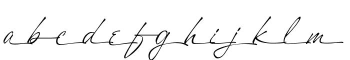 A&S Heartbeat Script swash Font LOWERCASE