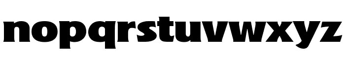 A&S Marquee Ext Font LOWERCASE