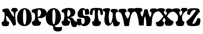 A&S Porkchop Primitive Bold Font UPPERCASE