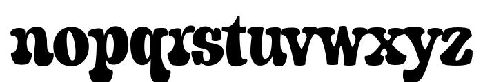 A&S Porkchop Primitive Bold Font LOWERCASE