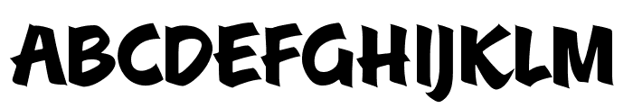 A&S Roadhouse Font LOWERCASE