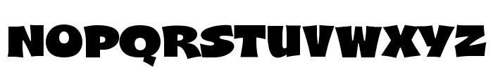 A&S Shocard Block Font UPPERCASE