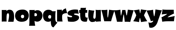 A&S Shocard Block Font LOWERCASE