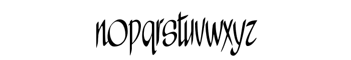 A&S Wizard Font LOWERCASE