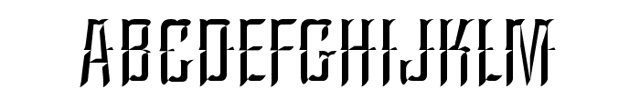 A&SArgentinaChisel Font UPPERCASE