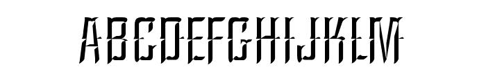 A&SArgentinaChisel Font LOWERCASE