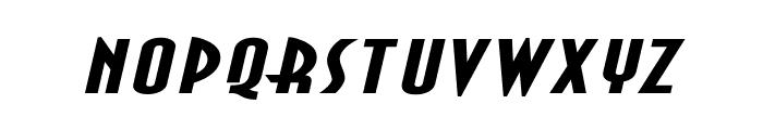 Asia Extended BoldItalic Font LOWERCASE