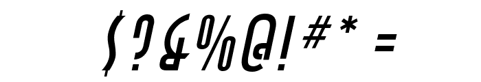 Asia Italic Font OTHER CHARS