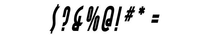 Asia Thin BoldItalic Font OTHER CHARS
