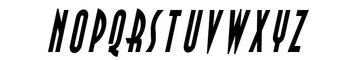 Asia Thin BoldItalic Font UPPERCASE
