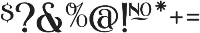ASU Casino Plain Regular otf (400) Font OTHER CHARS