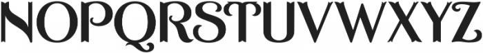 ASU Casino Plain Regular otf (400) Font UPPERCASE