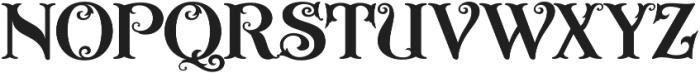 ASU Casino Regular otf (400) Font UPPERCASE